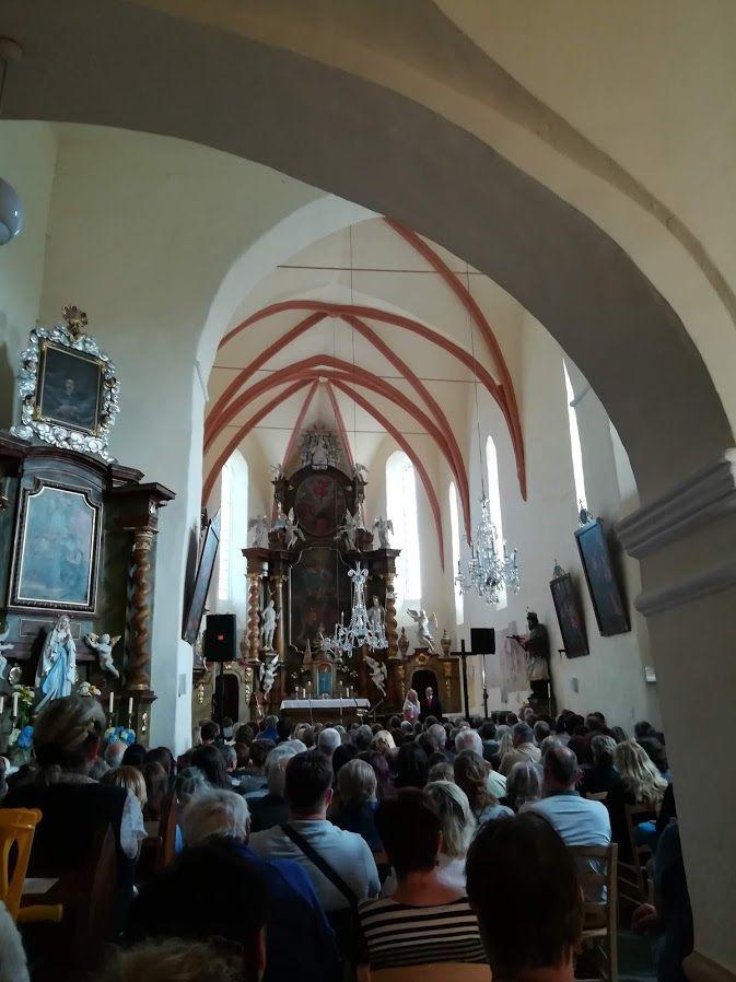 Začátek koncertu Hradišťan