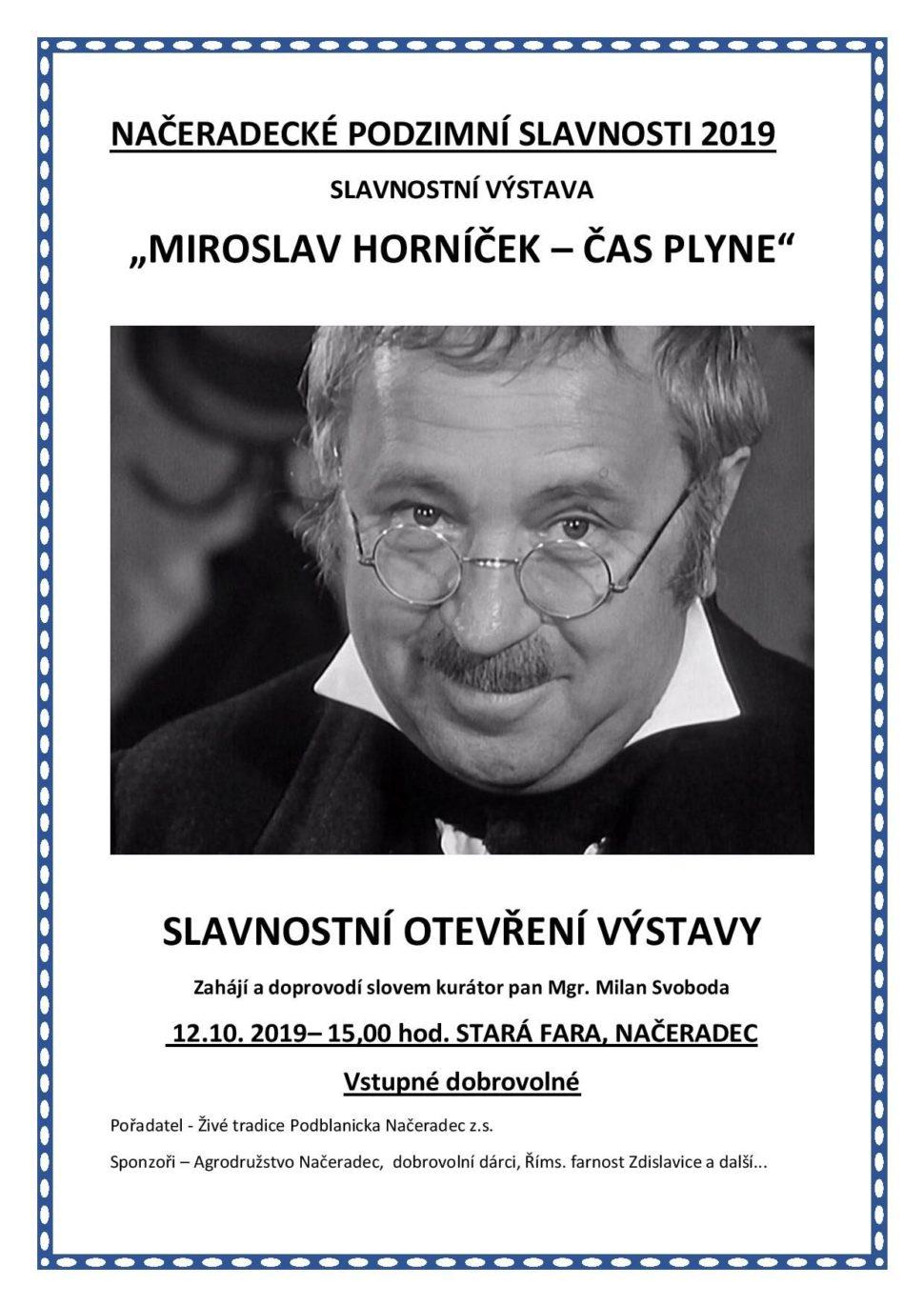 Miroslav Horníček výstava